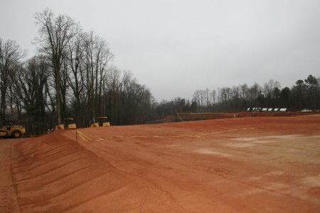 Site off Old Concord Road where the Belle Haven apartment complex will be built.