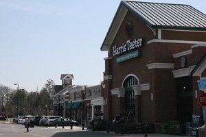 Harris Teeter - which comes complete with parking spaces for golf carts - anchors Carolina Commons Photo by Payton Guion