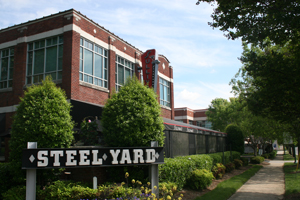 Steel Yard at South End boasts an occupancy rate 14 percentage points higher than the South End office average. Photo by Payton Guion