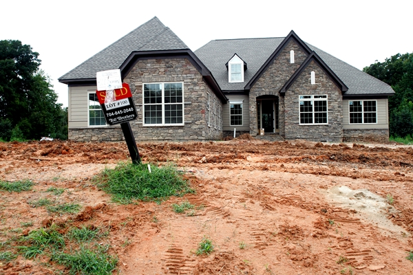 Toll Brothers has taken over the Bromley Estates subdivision in Weddington. Photo by Nell Redmond