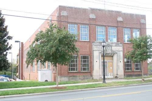 Southern Apartment Group is relocating its headquarters to the Grinnell Water Works Building on Morehead Street.  Photo by Payton Guion