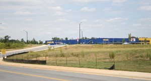 The Arden Group plans to bring up to four car dealerships, including Park Chevrolet, to this property on nearly 40 acres near University City Boulevard. Photo by Payton Guion