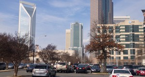 Statistically, the Charlotte office market has seen a continued improvement. But the recent tightening of the market may be related to a lack of recently completed office space. Photo by Payton Guion.