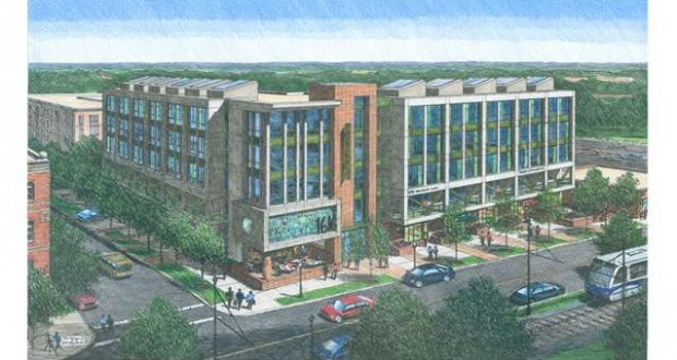 Beacon breaks ground on South End office building
