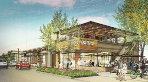 Completion of the first phase of the Sedgefield Shopping Center and neighborhood redevelopment project, which will be retail space, could be late 2016 or early 2017. Illustration courtesy city of Charlotte