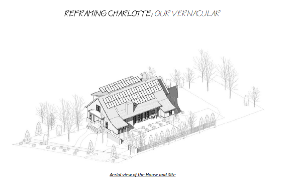 """Bryan Mermans' """"Our Vernacular"""" was chosen as the best overall design for in The Mecklenburg Times' architectural challenge, """"Reframing Charlotte,"""" that asked architects to present their vision of a Charlotte-style house."""