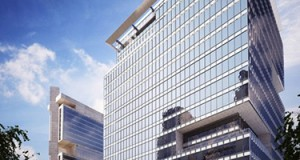 Portman Holdings' 19-story tower will be built next to The Westin Charlotte hotel, and is scheduled for completion early in 2017. Rendering courtesy of Portman Holdings.
