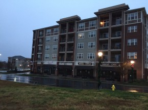 RL West, which owns the LangTree Lake Norman mixed used development, is one of the many owners of property on the other side of Interstate 77 for which Lincoln Harris will do a market study. Photo by Mark Abramson