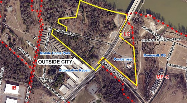 Rock Hill approves first reading for Riverside on the Catawba