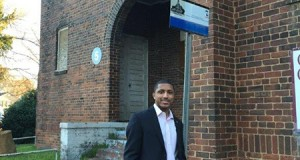 Justin Harlow, a Greenville dentist and vice president of the Biddleville-Smallwood Community Organization, said his neighborhood group supports a plan by Johnson C. Smith University to redevelop the historic Mt. Carmel Baptist Church. The university plans to renovate and expand the building for classrooms and university offices.