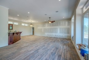 The house features radiant flooring, which both heats and cools the house. Photo courtesy of Mike Stricklin