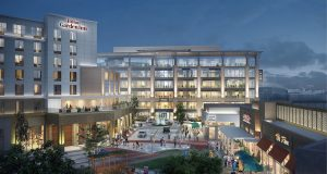 This rendering shows the Waverly development which announced three more restaurant tenants on Monday. Graphic courtesy Waverly