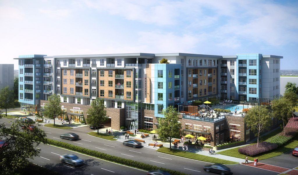 Montage will be a six-story, 302-unit luxury multi-housing development in Uptown Charlotte. Photo courtesy HFF.