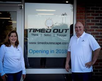 Co-owned by husband-and-wife team, Chris and Tina Burfield, Timed Out will initially feature two escape rooms – Precinct, set in a mysterious former police station, and West, taking guests on an adventure back in the days of the Wild West. Photo courtesy Timed Out