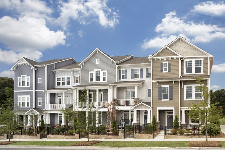 Central Living by David Weekley Homes has one three-story townhome left for purchase in Central Living at Iverson.